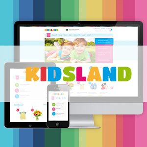 Magento theme for kidstore