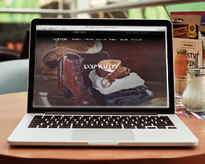 Magento theme for leatherstore