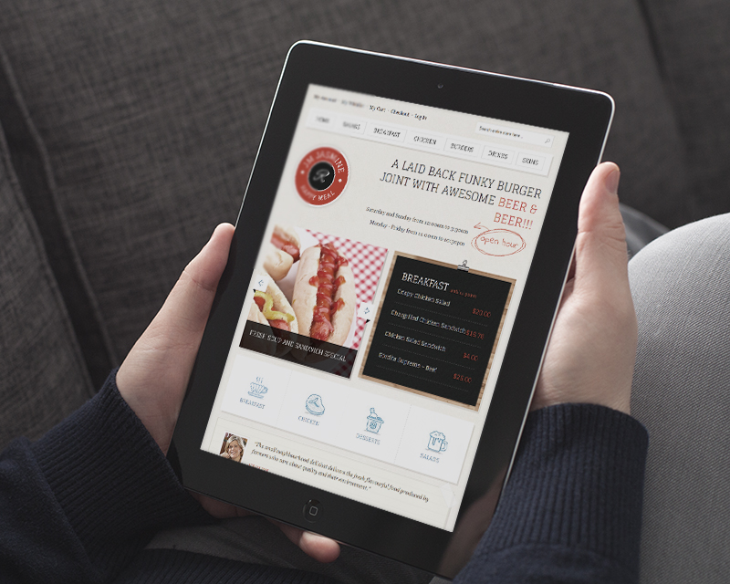 Magento Theme Jasmine – iPad