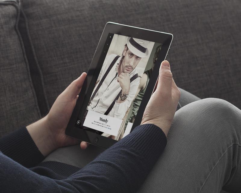 Magento Theme Classy – iPad