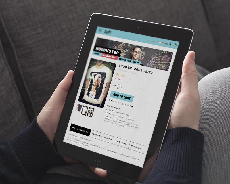 Magento Theme Siotis – iPad