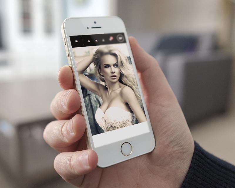 Magento Theme Classy – iPhone