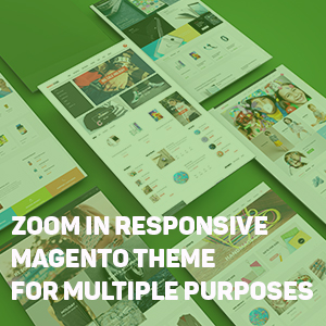 Magento multiple purposes theme