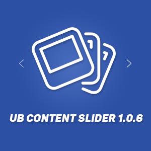 UB Content Slider 1.0.6