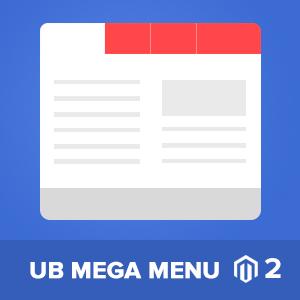Magento 2 UB Mega menu