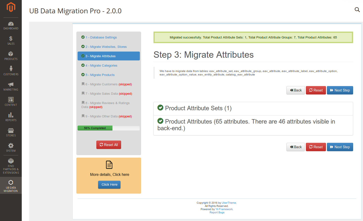 Step 3 - Migrate Attributes