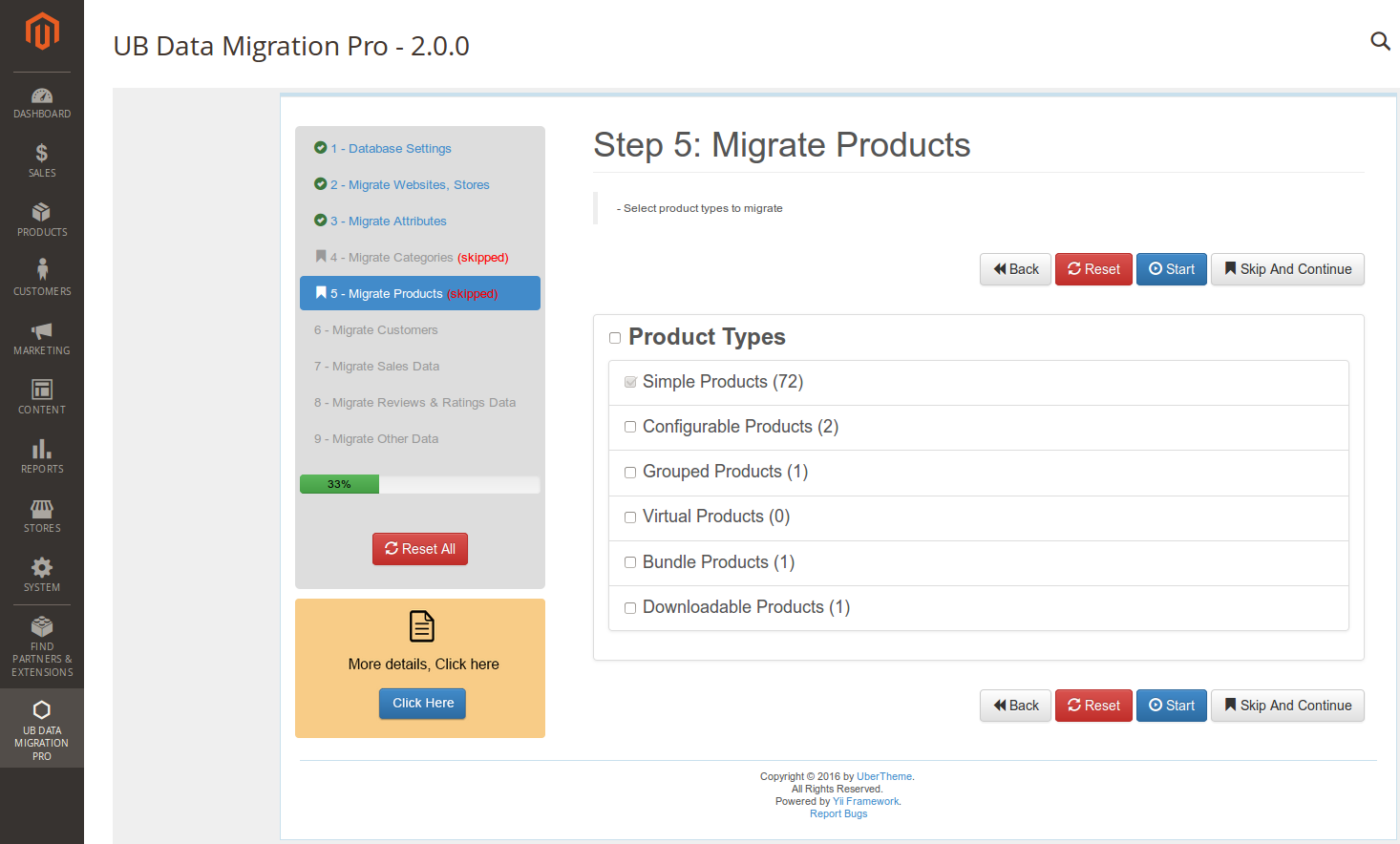 Step 5 - Migrate Products