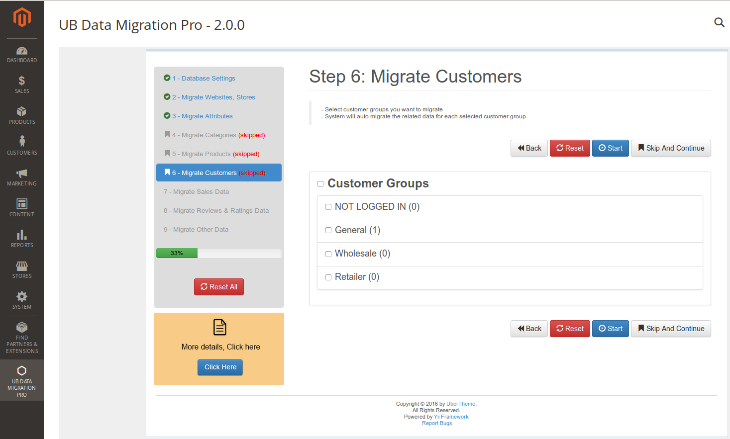 Step 6 - Migrate Customers
