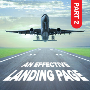 Effective landing page part 2