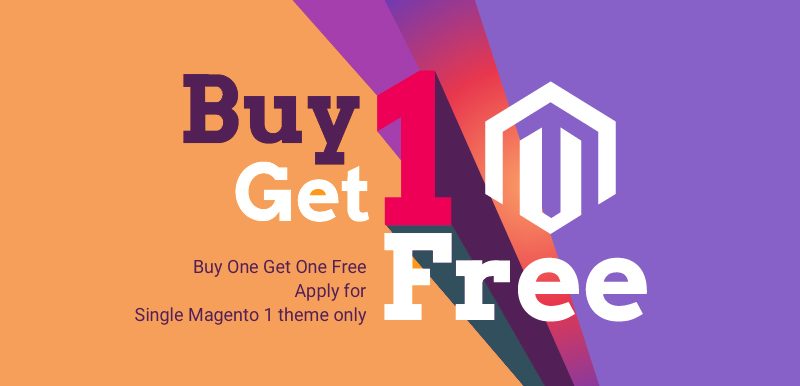 Get 2 Magento themes with a price of 1