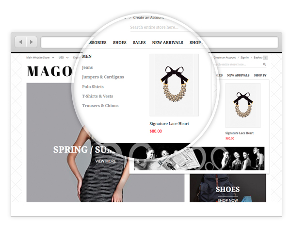 Magento 2 theme - UB Mago preview