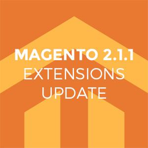 Magento 2.1.1 Update