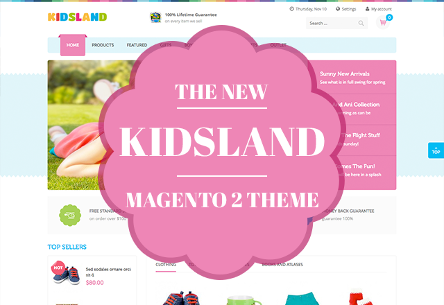 UB Kidsland - Magento 2 Theme