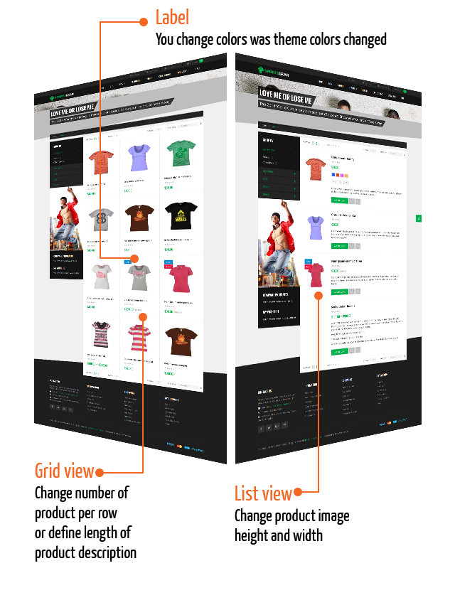 Magento 2 theme customization -  ThemeHelper Grid and List view