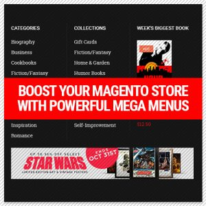 UB Mega menu for Magento 2