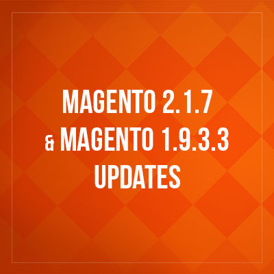 Magento 1.2.7 and Magento 1.9.3.3 Update