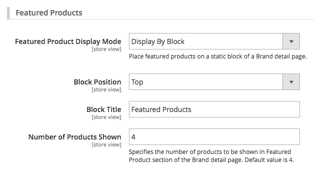 magento 2 layered navigation - featuredbyblock