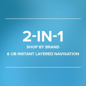 UB Instant Layered Navigation & Shop By Brand