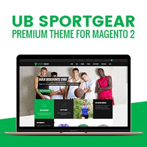 UB SportsGear for Magento 2