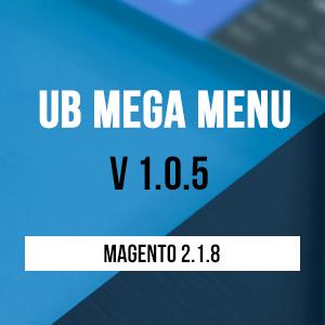 UB Mega Menu v1.0.5