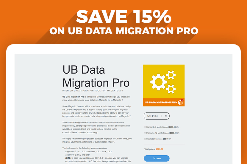 UB Data Migration Pro