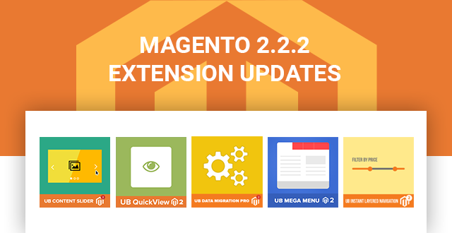 All Ubertheme M2 Extensions are fully ready for Magento 2.2.2