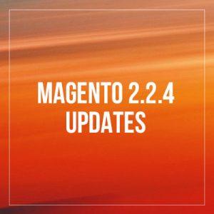 Magento 2.2.4 updates