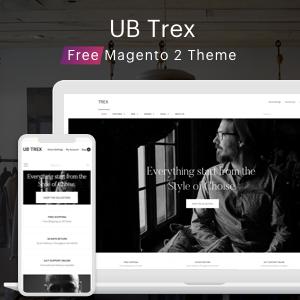 Free Magento 2 theme UB Trex
