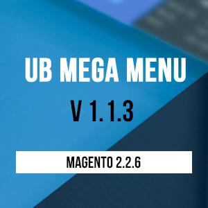 UB Mega Menu v1.1.3