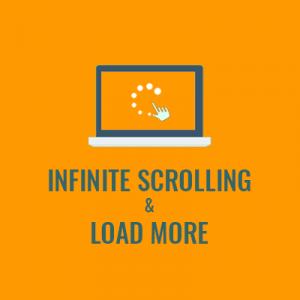 Infinite Scrolling - UB Trex Pro