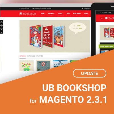 UB Bookshop v1.0.7 for Magento 2.3.1
