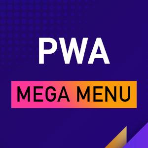UB PWA Mega Menu