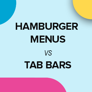 Magento PWA Menu: Hamburger vs Tab Bars