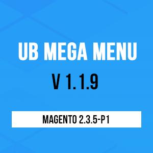 ub mega menu v119