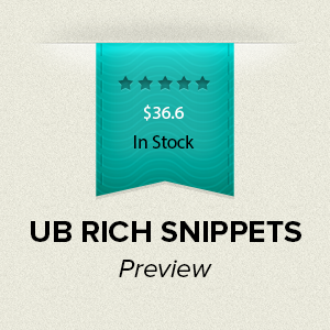 Preview of UB Rich Snippets module