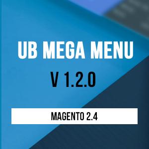 UB Mega Menu v1.2.0