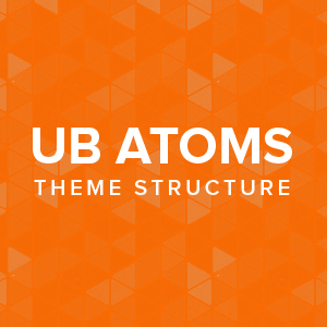 UB Atoms theme tructure
