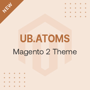 UB Atoms - Magento 2 theme