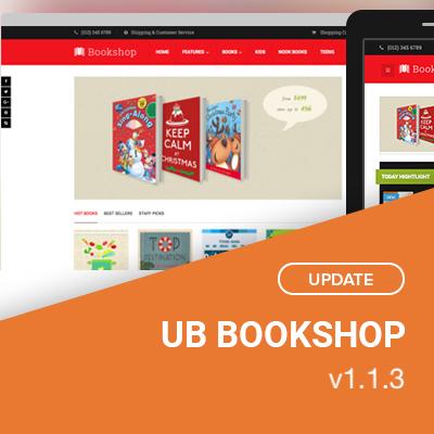 UB Bookshop v1.1.3