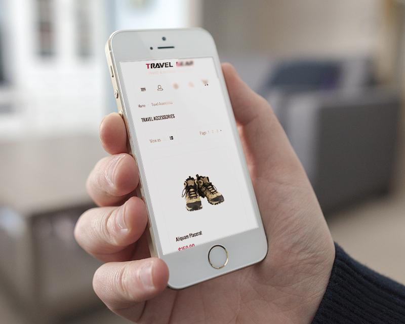 Magento Theme TravelGear – iPhone