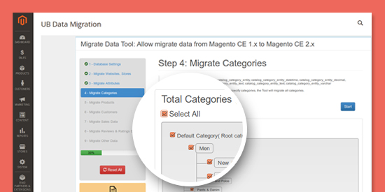 Magento 2 Data Migration Tool - Configure
