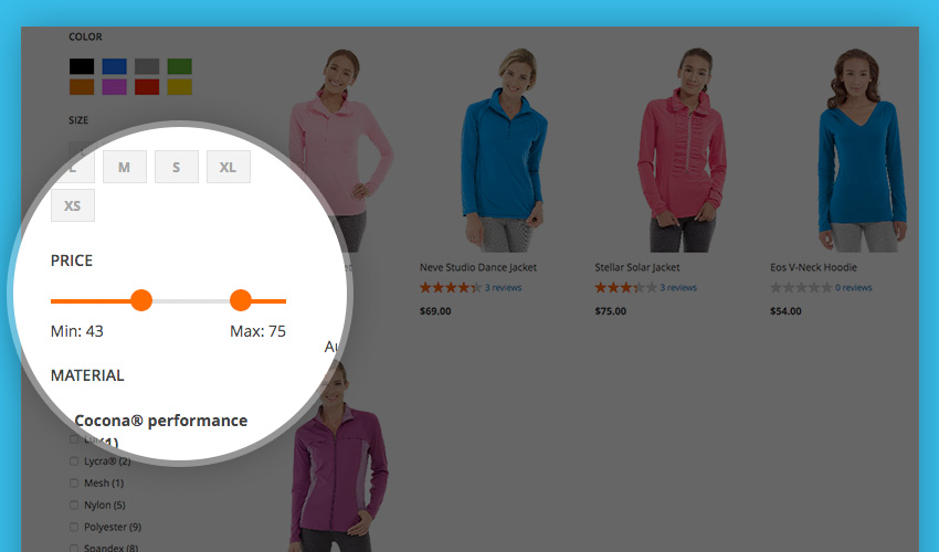 Magento 2 Layered Navigation - Custom CSS Enhancement