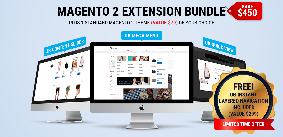 Magento 2 Extension Bundle