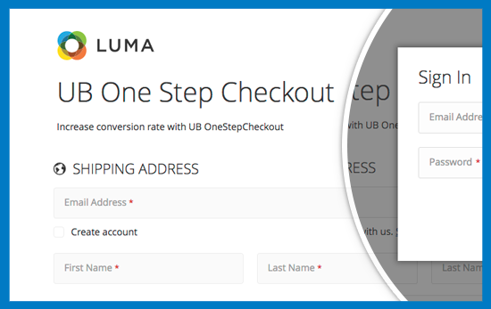 Magento 2 One Step Checkout - Guest Checkout