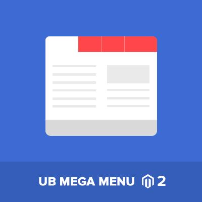 UB Mega Menu